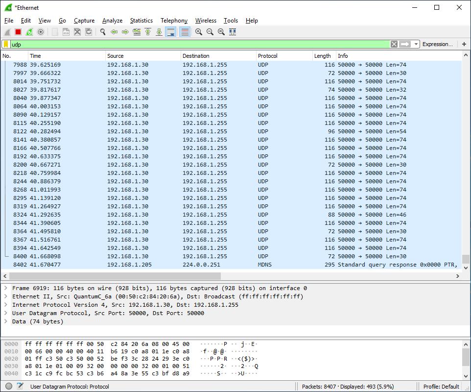UDP broadcast over ewon cosy 131 - eWON Cosy - hms how