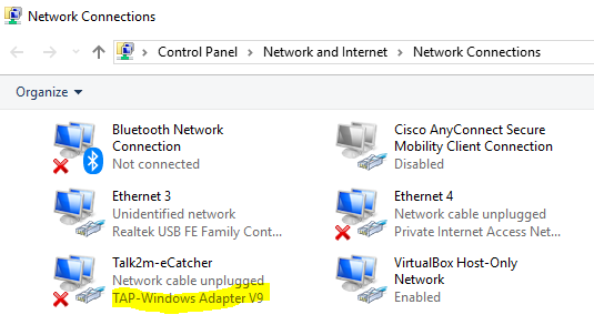 All Cisco Anyconnect Secure Mobility Client Connection